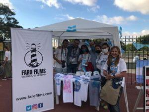 Faro FIlms equipo en la Marcha por la vida 2021